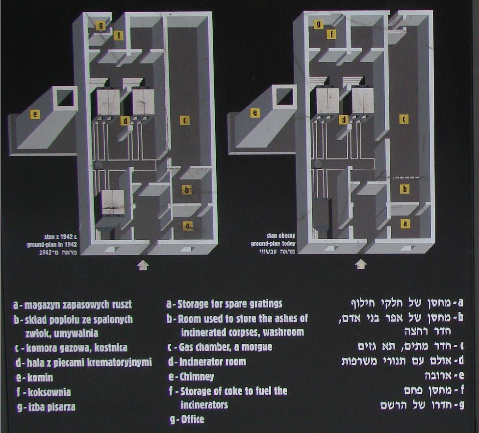 La chambre gaz du cr matoire d auschwitz i for Auschwitz chambre a gaz